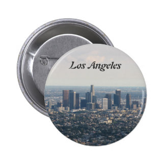 View of Downtown Los Angeles 6 Cm Round Badge