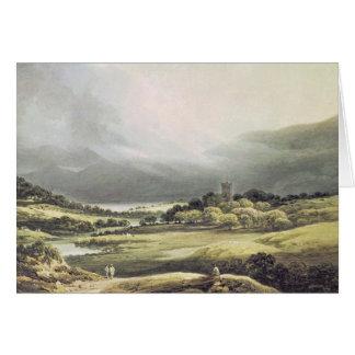 View of Dunloe Castle, Killarney, 1805 Greeting Card