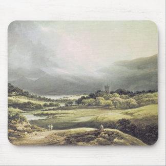 View of Dunloe Castle, Killarney, 1805 Mouse Mat