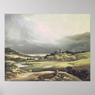 View of Dunloe Castle Killarney 1805 Posters