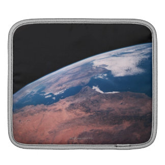 View of Earth from Space iPad Sleeve