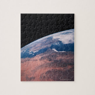 View of Earth from Space Jigsaw Puzzle