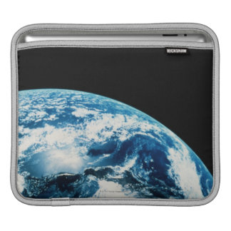 View of Earth in Space iPad Sleeve