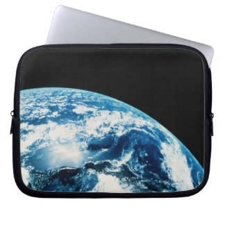 View of Earth in Space Laptop Sleeve