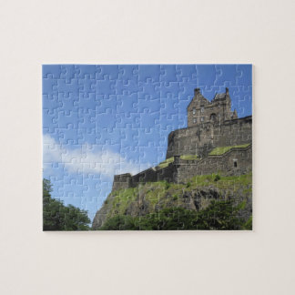 View of Edinburgh Castle, Edinburgh, Scotland, 2 Jigsaw Puzzle