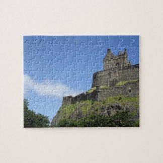 View of Edinburgh Castle, Edinburgh, Scotland, 2 Puzzle