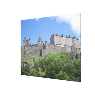 View of Edinburgh Castle, Edinburgh, Scotland, 3 Canvas Print
