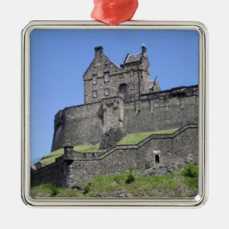 View of Edinburgh Castle, Edinburgh, Scotland, Christmas Ornament
