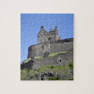 View of Edinburgh Castle, Edinburgh, Scotland, Jigsaw Puzzle