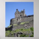 View of Edinburgh Castle, Edinburgh, Scotland, Poster
