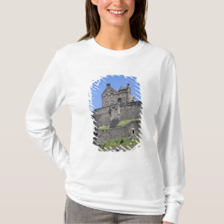 View of Edinburgh Castle, Edinburgh, Scotland, T-Shirt