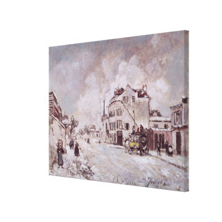 View of Faubourg Saint-Jacques Canvas Print