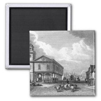 View of Faversham, Kent, 1832 Square Magnet