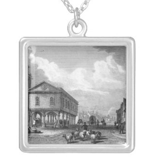 View of Faversham, Kent, 1832 Custom Necklace