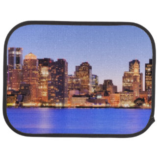 View of Financial District of downtown Boston Car Mat