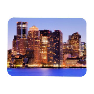 View of Financial District of downtown Boston Rectangular Photo Magnet