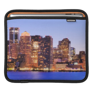 View of Financial District of downtown Boston iPad Sleeve