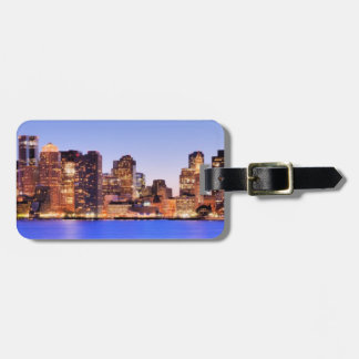 View of Financial District of downtown Boston Luggage Tag