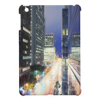 View of financial district office buildings iPad mini cover