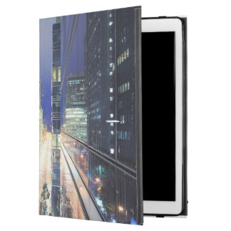 "View of financial district office buildings iPad pro 12.9"" case"