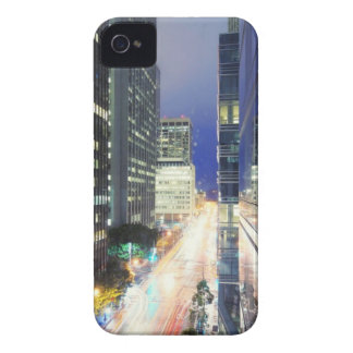 View of financial district office buildings iPhone 4 Case-Mate case