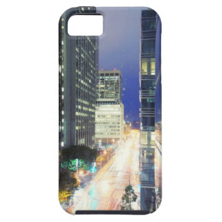 View of financial district office buildings iPhone 5 cover