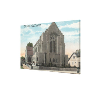 View of First United Presbyterian Church Canvas Print