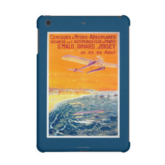 View of Float Planes in Air and Water Poster