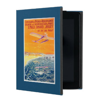 View of Float Planes in Air and Water Poster iPad Cover