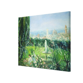 View of Florence, c.1909 Canvas Prints