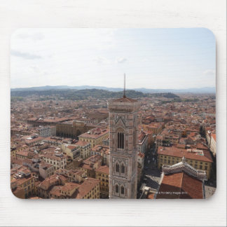 View of Florence from the top of the Duomo Santa Mouse Pad