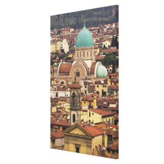 View of Florence, Italy from Piazza Canvas Print