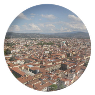 View of Florence, Italy from the top of the 2 Plate