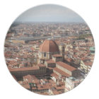 View of Florence, Italy from the top of the Plate