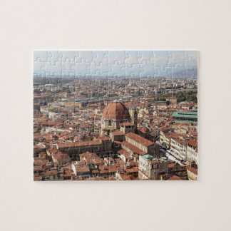 View of Florence, Italy from the top of the Puzzles
