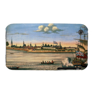 View of Fort George, with the city of New York fro iPhone 3 Case-Mate Case