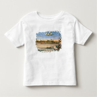 View of Fort George, with the city of New York fro Toddler T-Shirt