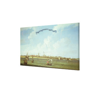 View of Fort St. George in the East Indies Canvas Print