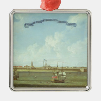 View of Fort St. George in the East Indies Christmas Ornament