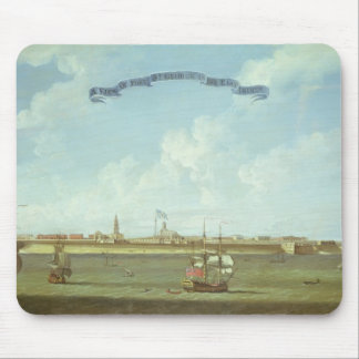View of Fort St. George in the East Indies Mouse Mat