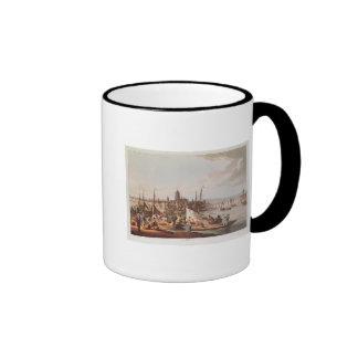 View of Frankfurt, 1814 Ringer Mug