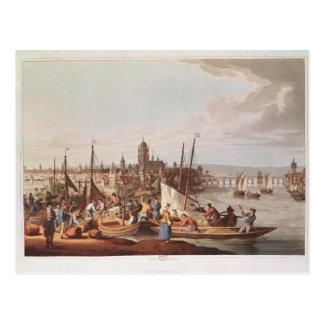 View of Frankfurt, 1814 Postcard