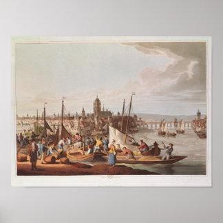 View of Frankfurt, 1814 Poster