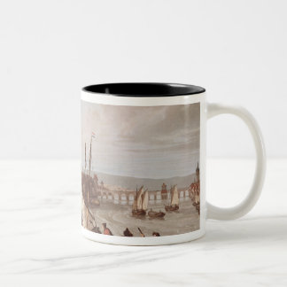 View of Frankfurt, 1814 Two-Tone Coffee Mug