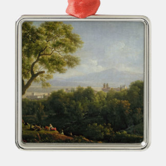View of Frascati Christmas Ornament