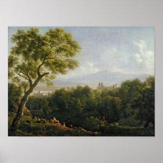 View of Frascati Print