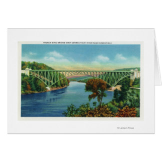 View of French King Bridge over Connecticut Card