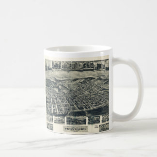 View of Frostburg Maryland by T.M. Fowler (1905) Basic White Mug
