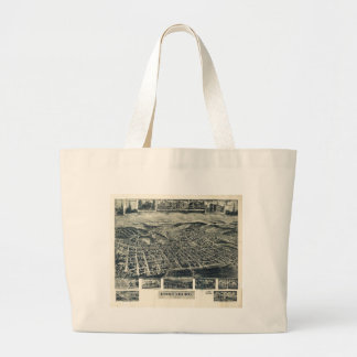 View of Frostburg Maryland by T.M. Fowler (1905) Jumbo Tote Bag