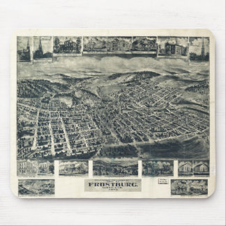 View of Frostburg Maryland by T.M. Fowler (1905) Mouse Pad